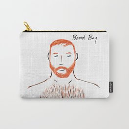 Beard Boy Flame 1 Carry-All Pouch
