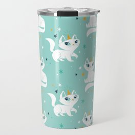 Magical Unicats! Travel Mug