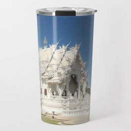 The Majestic White Temple Travel Mug