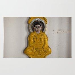 Buddha in Nepal Rug