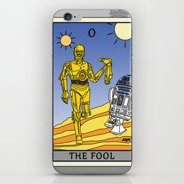 The Fool - Tarot Card iPhone Skin