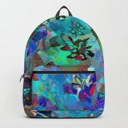 Hawaiian Jungle Batik Backpack