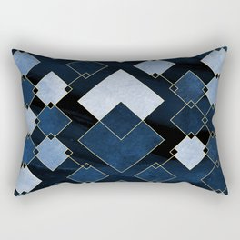 Blue Nebula Rectangular Pillow