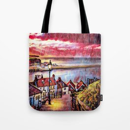 Sweet Whitby Tote Bag