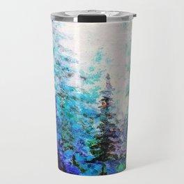 BLUE MOUNTAIN PINES LANDSCAPE Travel Mug