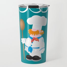 OCD Obsessive cooking disorder Travel Mug