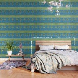 Twin Palms Wallpaper