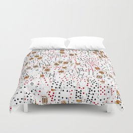 Suits You Duvet Cover