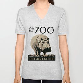 Visit the Zoo Unisex V-Neck