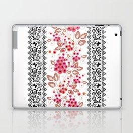 Red flowers . Laptop & iPad Skin