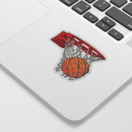 ball basket Sticker