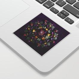 May Flowers Mandala Sticker