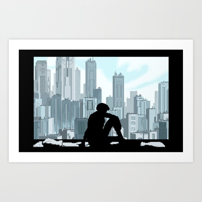 Ghost in the Shell Art Print