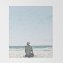 Rowan on the Beach Throw Blanket