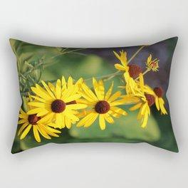 Black Eyed Beauties Rectangular Pillow