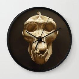 Gorilla skull Wall Clock