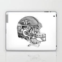 Football Helmet Laptop & iPad Skin