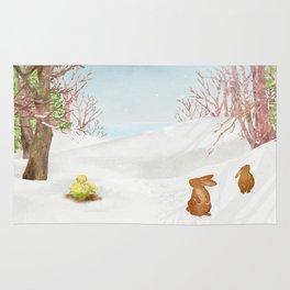 Amur adonis | Miharu Shirahata Rug
