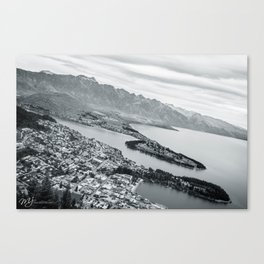 Town fit for a Qu een Canvas Print