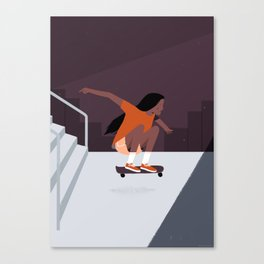 Skate Girls Series Canvas Print