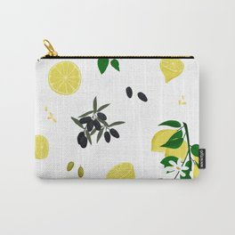 Lemons and olives - 2 Carry-All Pouch
