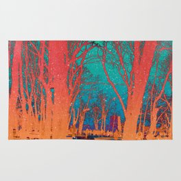 Sanctity in the Trees Rug