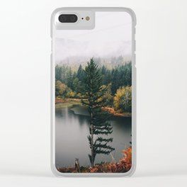 Gillette Lake Clear iPhone Case