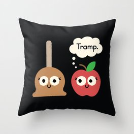 Apple Jelly Throw Pillow