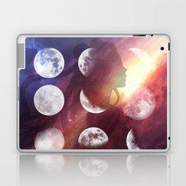 Moon Goddess Selene Laptop & iPad Skin