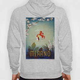 Horse riding, golf and tennis in 1920s Merano Hoody