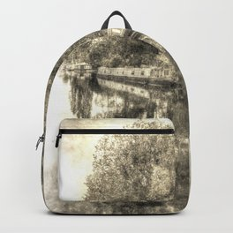 Little Venice London Vintage Backpack