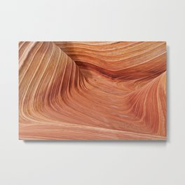 Above The Wave Metal Print