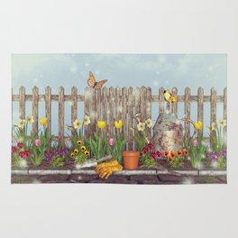 Spring Gardening Rug