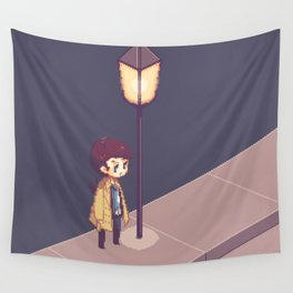 ill just wait here Wall Tapestry