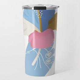 A Summer Hibiscus Travel Mug