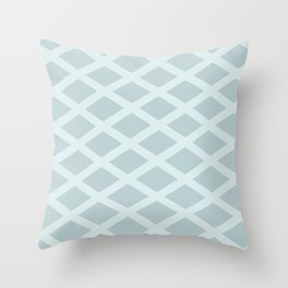 Cross Hatched 2 Throw Pillow
