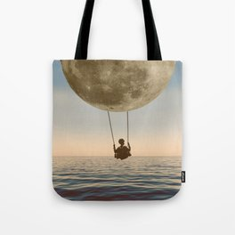 DREAM BIG/MOON CHILD SWING Tote Bag