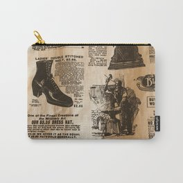 Old Vintage Advertising Part 2 Carry-All Pouch