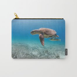 Swimming With Dinosaurs Carry-All Pouch