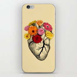 Flower Heart iPhone Skin