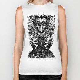 Test your Mind (t-shirt) Biker Tank