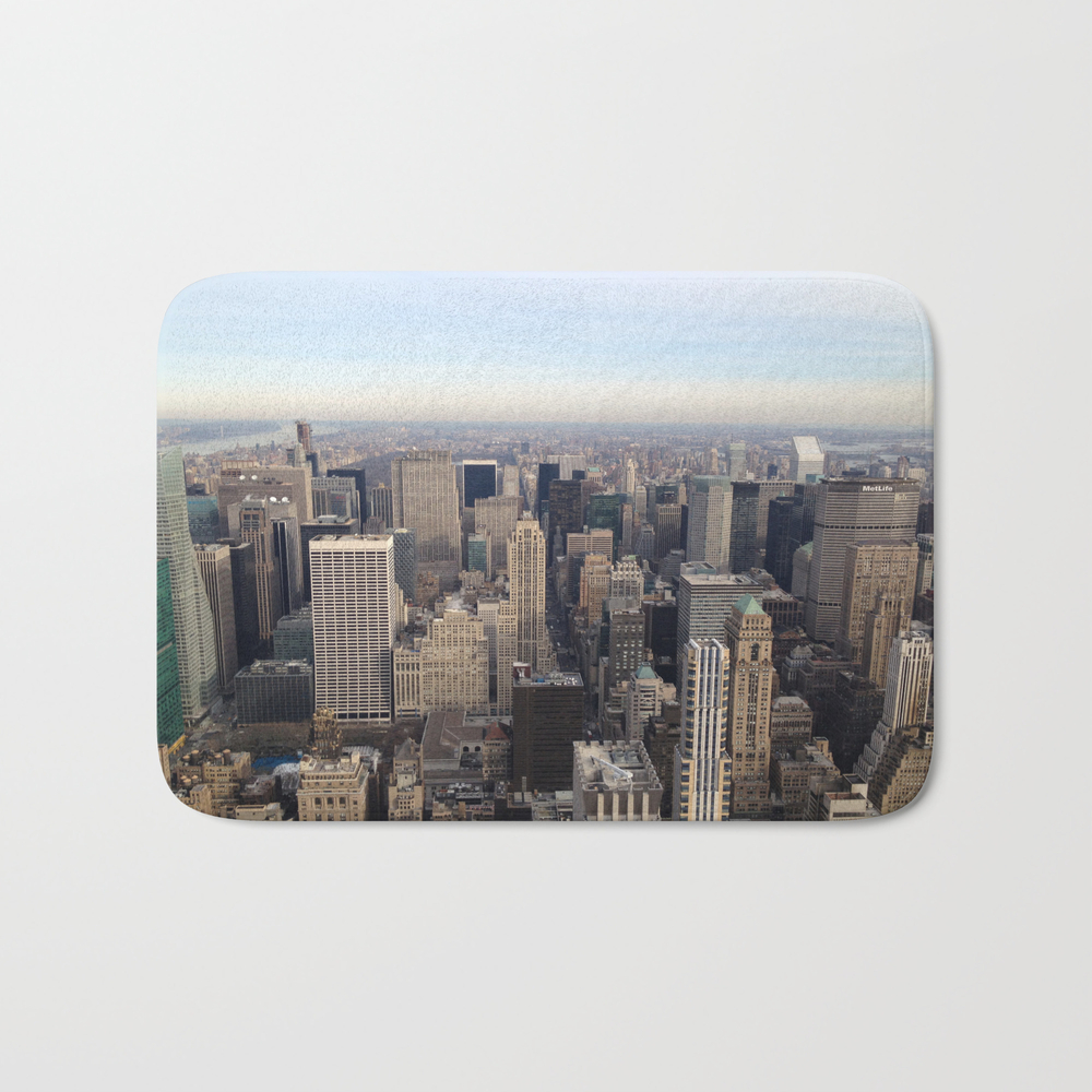 New York I Love You Bath Mat by Lucreziasemenzato BMT929300