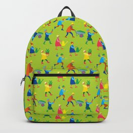 Gardeners pattern Backpack