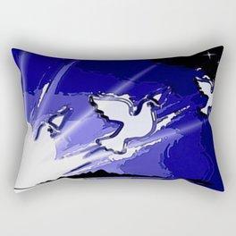 Fly, fly away. Rectangular Pillow