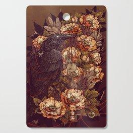 Corvus Corax Cutting Board