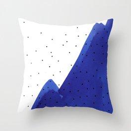 Bright blue series #3 Throw Pillow