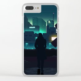 Blade Runner 2049 Clear iPhone Case