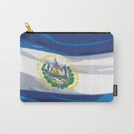 El Salvador Fancy Flag Carry-All Pouch