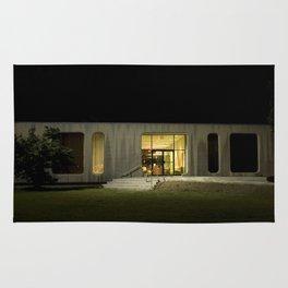Building at Night Rug
