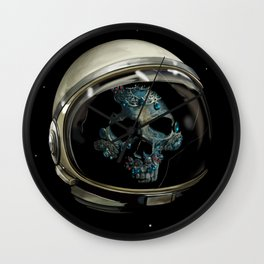 Holy Starman Skull II Wall Clock